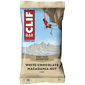 CLIF Bar Energy Bar Box 12 x 68g, White Chocolate Macadamia Nut